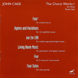 Superb JOHN CAGE   THE CHORAL WORKS 1 Part 26